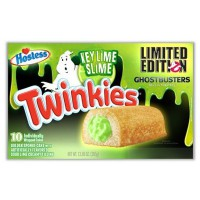 HOSTESS TWINKIES MERENDINE GHOSTBUSTERS GUSTO LIME - CONFEZIONE