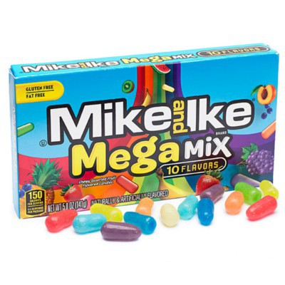 MIKE & IKE MEGA CANDY MIX