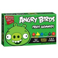 ANGRY BIRDS GREEN PIG GUMMIES CARAMELLE GOMMOSE