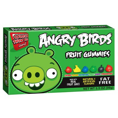 ANGRY BIRDS GREEN PIG GUMMIES