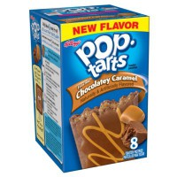 KELLOGG'S POP TARTS FROSTED CHOCOLATEY CARAMEL