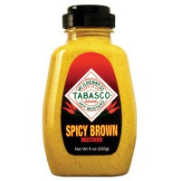 TABASCO SPICY BROWN MUSTARD MOUTARDE BRUNE ÉPICÉE