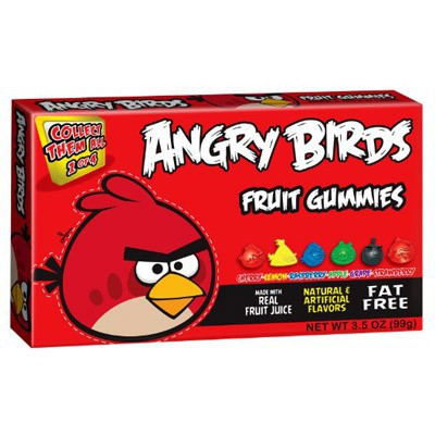 ANGRY BIRDS RED BIRD GUMMIES
