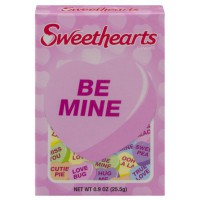 NECCO SWEETHEARTS CANDIES