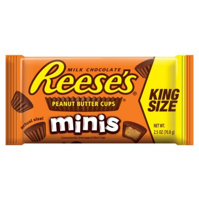 REESE'S MINIS PEANUT BUTTER CUPS