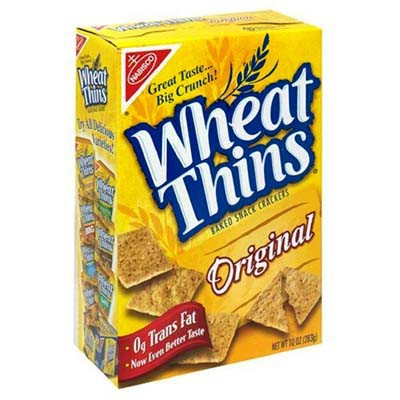 NABISCO WHEAT THINS CRACKERS