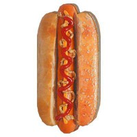 BOOK LIVRE FORME - HOT DOG
