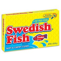 SWEDISH FISH RED CANDIES CARAMELLE GOMMOSE