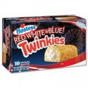 HOSTESS TWINKIES RED WHITE & BLUE BOX
