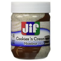 JIF COOKIES 'N CREAM HAZELNUT SPREAD