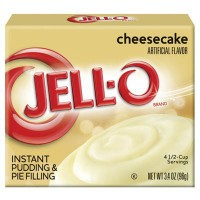 JELL-O PUDIN INSTANTÁNEO CHEESECAKE