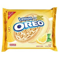 NABISCO OREO LEMON SANDWICH COOKIES
