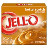 JELLO INSTANT PUDDING BUTTERSCOTCH
