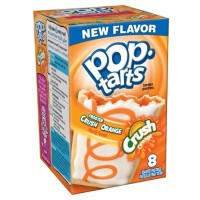 KELLOGG'S POP TARTS FROSTED CRUSH ORANGE