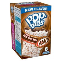 KELLOGG'S POP TARTS A&W ROOT BEER AVEC GLACAGE