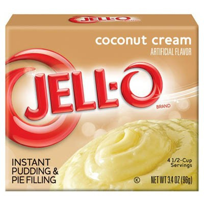 JELLO INSTANT PUDDING COCONUT