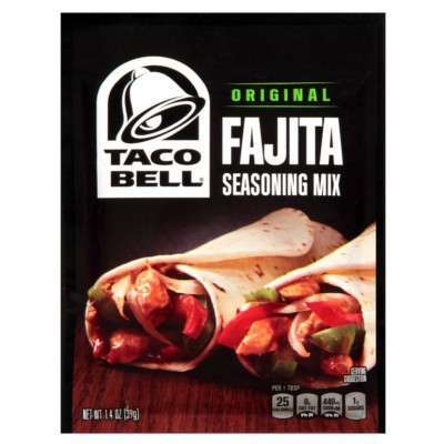 TACO BELL FAJITA SEASONING MIX