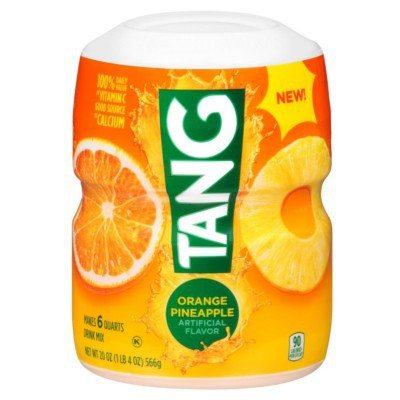 TANG BARREL ORANGE PINEAPPLE DRINK MIX