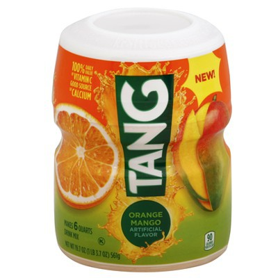 TANG BARREL ORANGE MANGO DRINK MIX