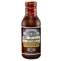 BUDWEISER SAUCE BARBECUE HONEY MIEL