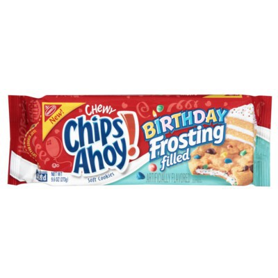 CHIPS AHOY! CHEWY BIRTHDAY FROSTING FILLED COOKIES