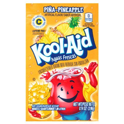 CLEARANCE - KOOL-AID PINEAPPLE UNSWEETENED SOFT DRINK MIX