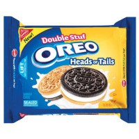 CLEARANCE - NABISCO OREO HEADS OR TAILS SANDWICH COOKIES