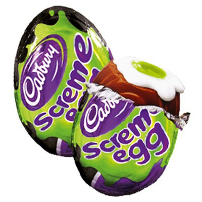 CADBURY SCREME EGG WITH GREEN YOLK