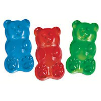 GIANT BRIGHT GUMMY BEAR