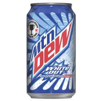 MOUNTAIN DEW WHITE OUT SODA