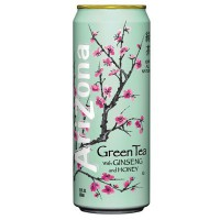 ARIZONA ICED TEA GREEN & GINSENG HONEY CAN