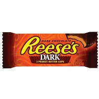 CLEARANCE - REESE'S 2 PEANUT BUTTER CUPS DARK CHOCOLATE