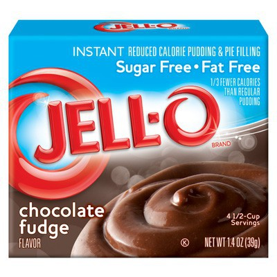 JELLO INSTANT PUDDING SUGAR-FREE CHOCOLATE