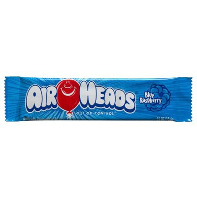AIRHEADS BLUE RASPBERRY TAFFY CANDY
