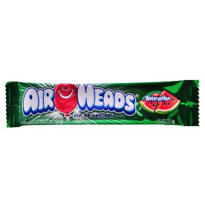 AIRHEADS WATERMELON TAFFY CANDY