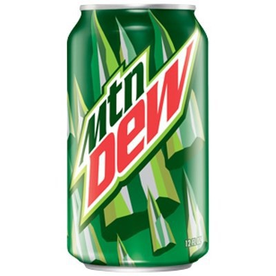 CLEARANCE - MOUNTAIN DEW SODA