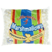CLEARANCE - LITTLE BECKY MARSHMALLOWS WHITE MINI