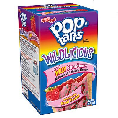 KELLOGG'S POP TARTS FROSTED WILD STRAWBERRY