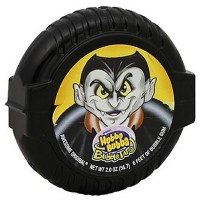 "HUBBA BUBBA BUBBLE TAPE CHEWING GUMS ""HALLOWEEN"" MÈTRE-RUBAN"