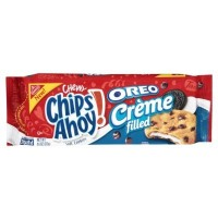 CHIPS AHOY! CHEWY COOKIES MOELLEUX OREO CREME