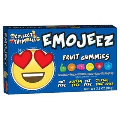 EMOJEEZ HEART EYES FRUIT GUMMIES