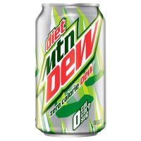 CLEARANCE - MOUNTAIN DEW DIET SODA (x6)