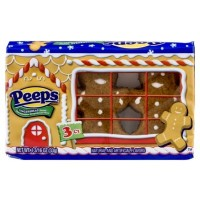 PEEPS 3 MARSHMALLOW GINGERBREAD MEN