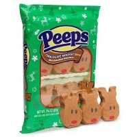 CLEARANCE - PEEPS 6 MARSHMALLOW CHOCOLATE REINDEERS