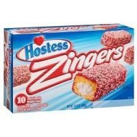 HOSTESS ZINGERS RASPBERRY BOX