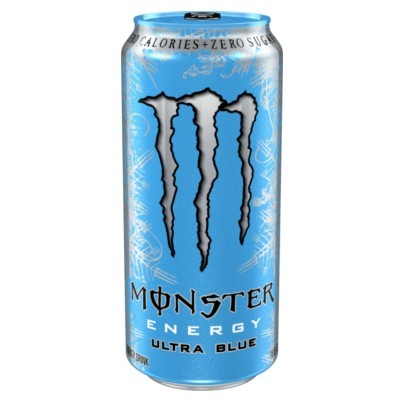 MONSTER ENERGY ULTRA BLUE ENERGY DRINK