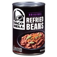 TACO BELL REFRIED BEANS / HARICOTS CUISINÉS