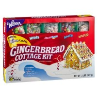 WONKA GINGERBREAD COTTAGE TORTA CON KIT PER DECORAZIONE