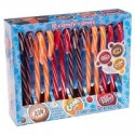 CANDY CANES SODA A&W CRUSH NARANJA  DR PEPPER CAJA DE 12