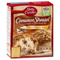BETTY CROCKER PREPARATO PER MUFFIN STREUSEL ALLA CANNELLA